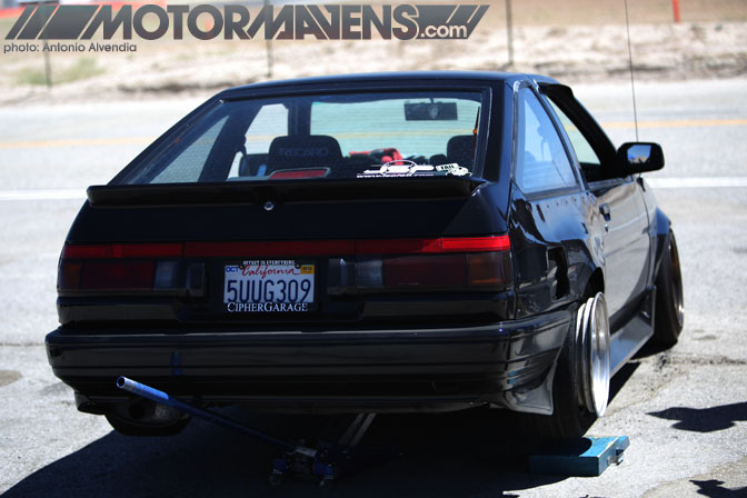 John Russakoff JSP AE86 JustDrift All Star Bash drifting festival Willow Springs ASBX 2010
