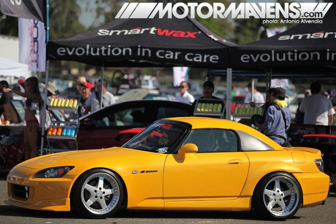 S2000 Work Equip Autocon Coverage Santa Anita Racetrack