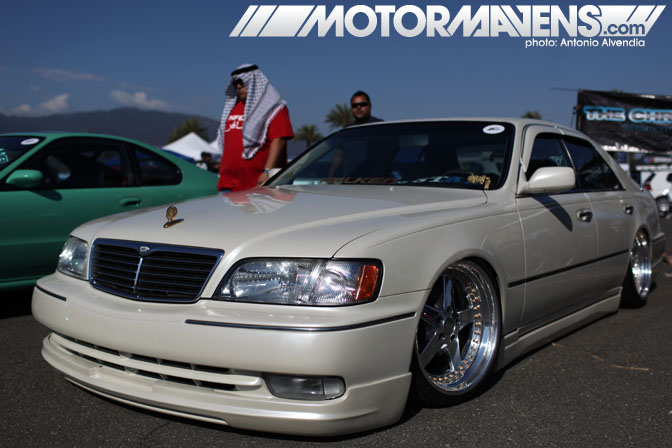 Infiniti Q45 Autocon Coverage Santa Anita Racetrack