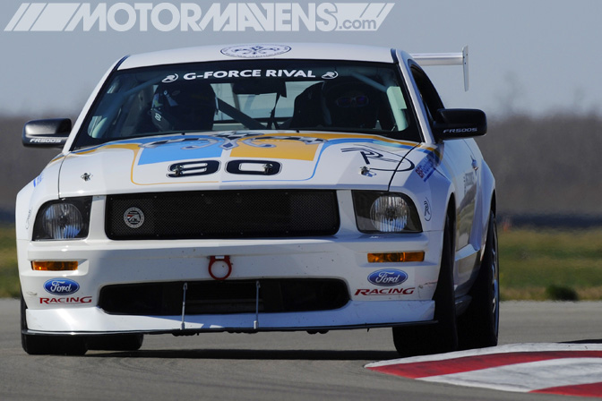 Ford Racing Mustang FR500S BFG BF Goodrich Rival Tire Test Tire Rack New Orleans Nola Motorsports Park