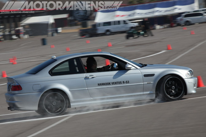 E46 M3 Hankook Ventus RS3 vs BFG BF Goodrich Rival Comparison Tire Test Tire Rack New Orleans Nola Motorsports Park