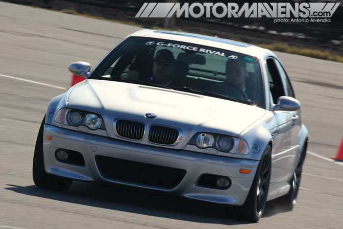 E46 M3 BFG BF Goodrich Rival Tire Test Tire Rack New Orleans Nola Motorsports Park