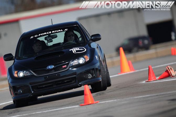 BFG BF Goodrich Rival Tire Test Tire Rack Subaru WRX STi New Orleans Nola Motorsports Park autocross