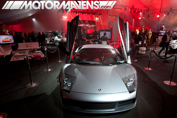 Forza Motorsport 4 Video Game Experience debut Turn 10 Studios Top Gear USA Lamborghini launch party LA Live E3 2011 ID Agency