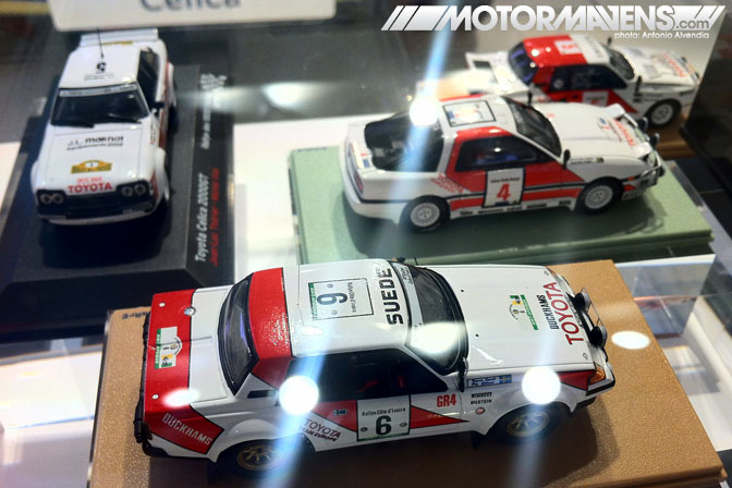 die cast RA65 Celica GT Kyosho Minichamps Epoch Mtech Ebbro Diapet 1/43 Le Rendez-Vous Toyota rendezvous Paris France Champs-Elyses Champs Elysees showroom flagship store