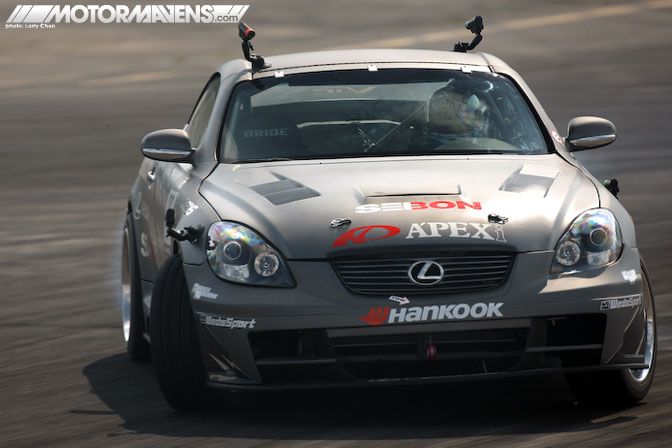 Ryuji Miki Apex'i Apex Integration Lexus SC430 Formula Drift New Jersey Wall Speedway Driftstream