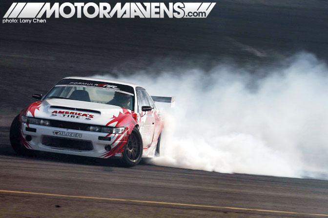Daijiro Dai Yoshihara S13 Silvia V8 Falken America's Tire Discount Formula D New Jersey and FD Atlanta 1st Place Winner