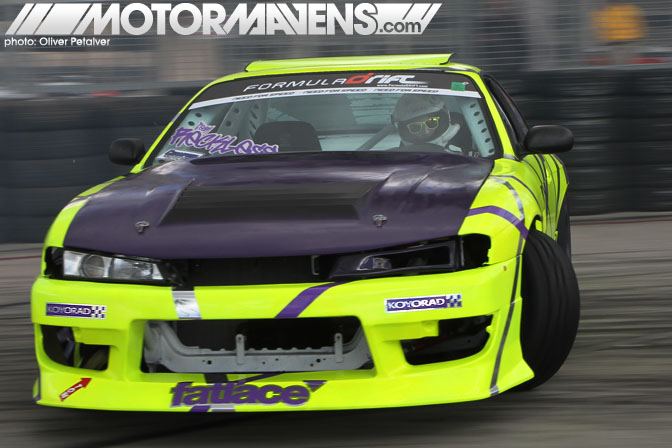 Matt Field S14 Formula Drift Streets of Long Beach 2011