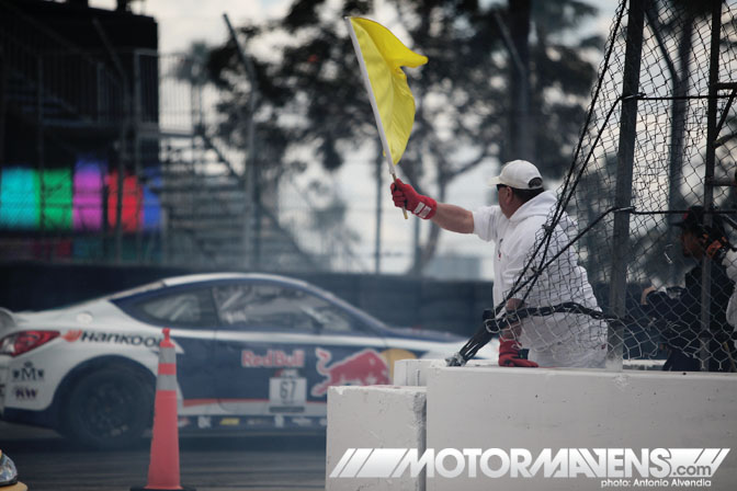 LBGP Toyota Grand Prix course worker Formula Drift Streets of Long Beach 2011