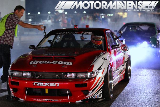 Dai Yoshihara Falken Tire S13 Formula Drift Las Vegas Motor Speedway After Dark
