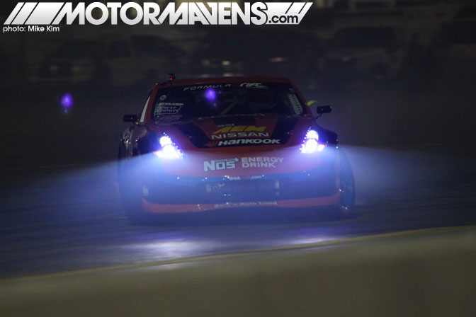 Z34 370Z Chris Forsberg NOS Formula Drift Las Vegas Motor Speedway After Dark