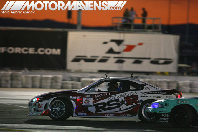 Formula Drift Las Vegas Motor Speedway After Dark