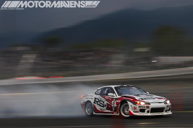 Toshiki Yoshioka RSR S15 Nissan Silvia RS-R Formula Drift Championship Finale Irwindale Speedway drifting