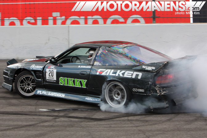 Sikky Formula Drift Championship Finale Irwindale Speedway drifting