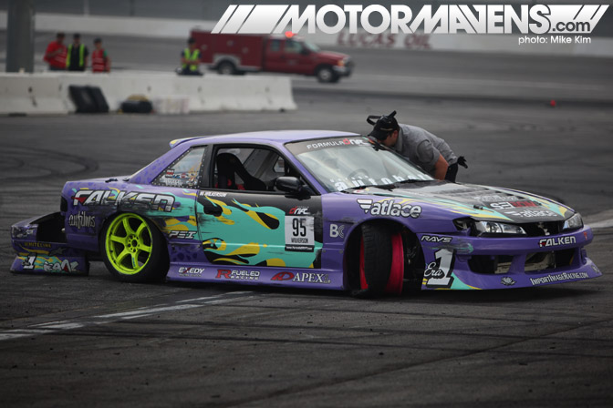 Walker Wilkerson Formula Drift Championship Finale Irwindale Speedway drifting