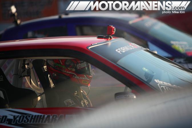 Dai Yoshihara Daijiro Discount Tire S13 V8 Formula Drift Championship Finale Irwindale Speedway drifting