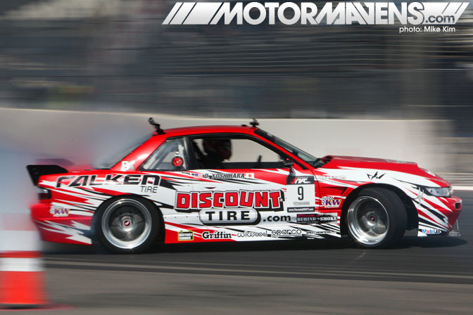 Formula Drift Long Beach Daijiro Yoshihara Dai Discount Tire S13