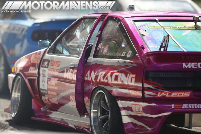 Taka Aono AE86 Formula Drift Long Beach