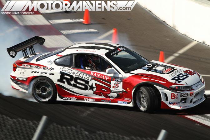 Toshiki Yoshioka S15 Nitto RSR Qualifying
