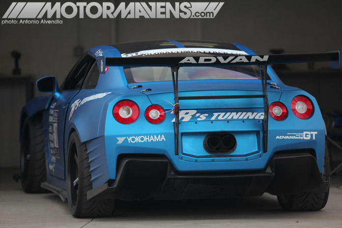 Ben Sopra R35 GTR R's Tuning Ricky Kwan Fast & Furious Fast&Furious Buttonwillow Raceway