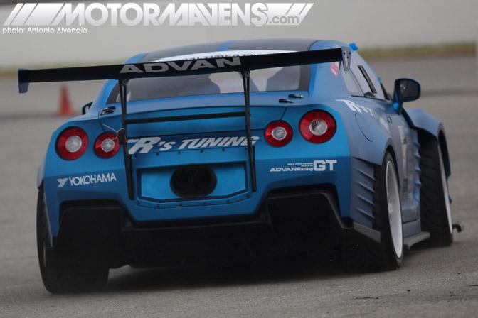 Ben Sopra R35 GTR R's Tuning Ricky Kwan Fast & Furious Fast&Furious 6 Buttonwillow Raceway