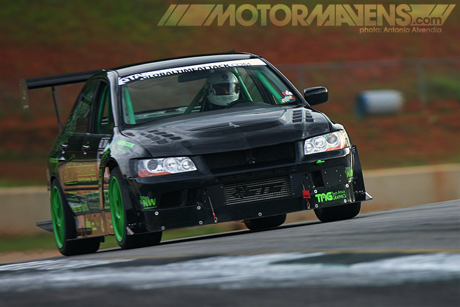 Global Time Attack Road Atlanta GTA Professional Awesome Racing Mitsubishi Lancer Evolution 7 Evo7 Dan O'Donnell Jason Dienhart