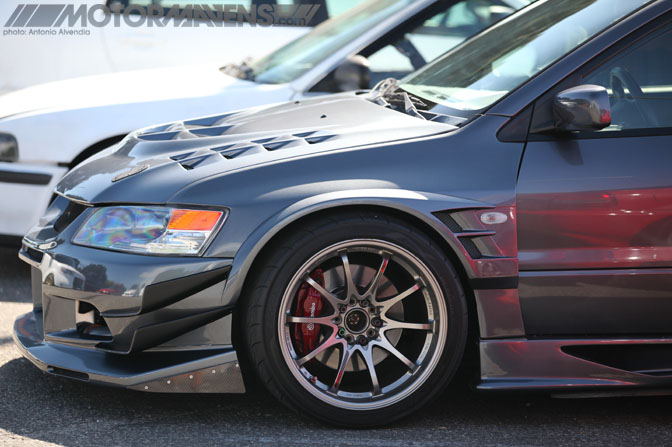 Voltex Cyber Evo Mitsubishi Lancer Evolution 9 Evo9 Infamous Hellaflush Canibeat Fatlace Illest Hella Flush Long Beach Queen Mary