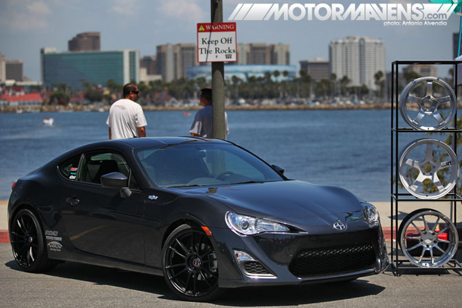 Rays Wheels Volk Racing Scion FRS GT86 FT86 Infamous Hellaflush Canibeat Fatlace Illest Hella Flush Long Beach Queen Mary