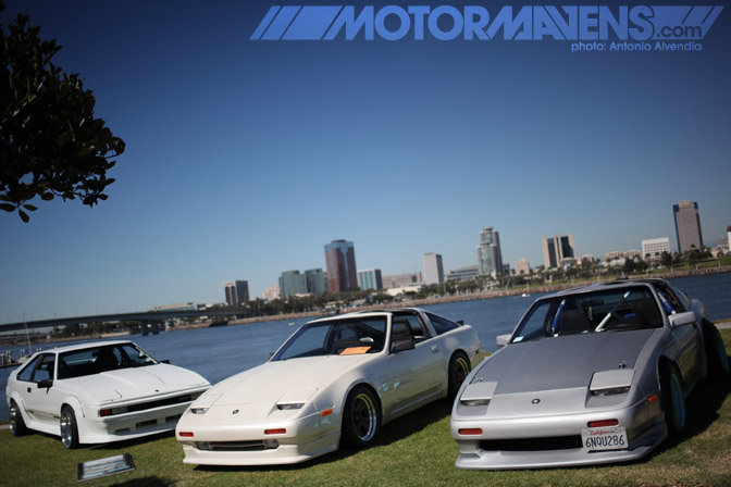 Z31 300ZX JZA60 MA60 Celica Supra Japanese Classic Car Show JCCS Queen Mary Long Beach