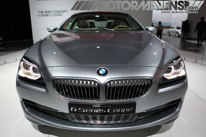 2011 BMW 6 Series Coupe Concept  LA Auto Show 2010
