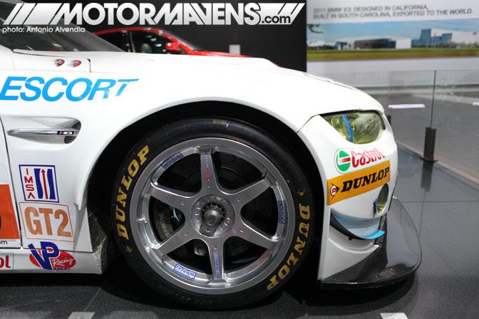 Rahal Letterman Racing BMW E92 M3 IMSA GT2 LA Auto Show 2010