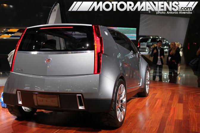 LA Auto Show 2010 cadillac ULC electric car concept