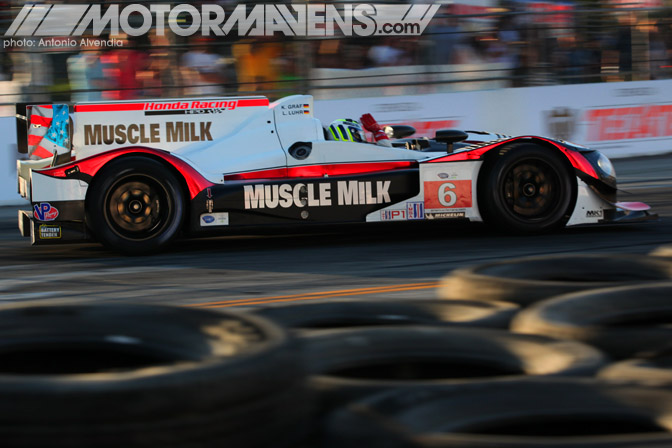 Muscle Milk Pickett Racing Honda-Powered HPD ARX-03c Prototype American Le Mans Series ALMS Long Beach Grand Prix 2013 ToyotaGPLB LBGP