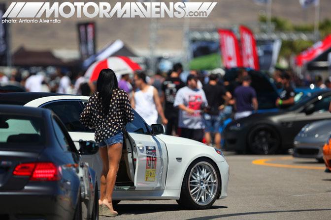 Mfest VI 6 Las Vegas caravan track event carshow las vegas motor speedway
