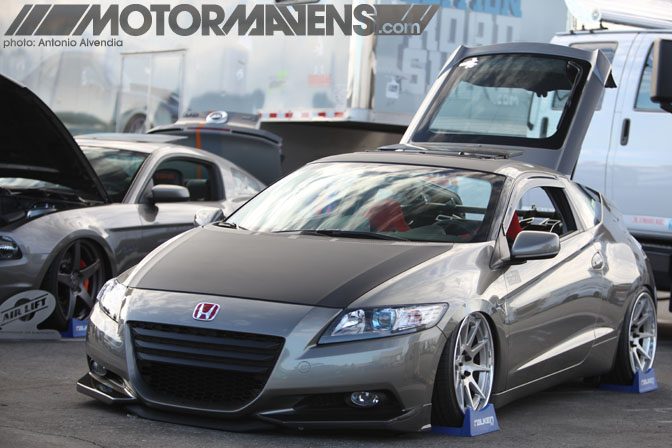 Irwindale Fortune Tjin Edition Honda CRZ hybrid MotorMavens Mass Appeal Car Show