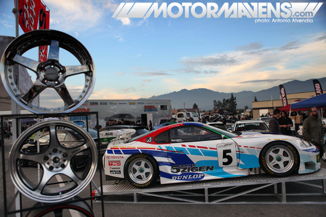 Irwindale MotorMavens Mass Appeal Car Show Ken Block Invitational Gymkhana Grid