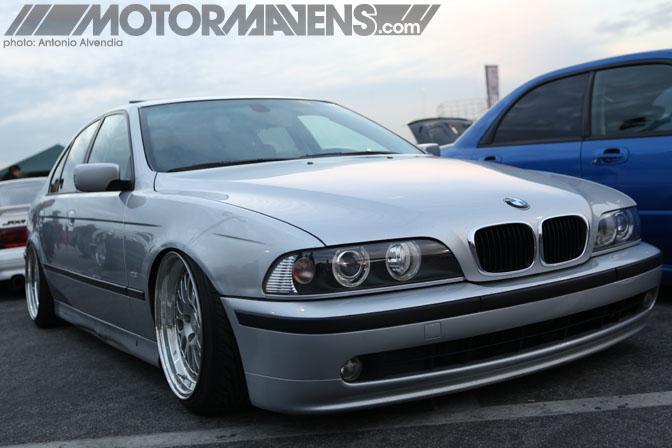 BMW E39 528i sedan PavelK Pavel Kostyurin Irwindale Speedway MotorMavens Mass Appeal Car Show