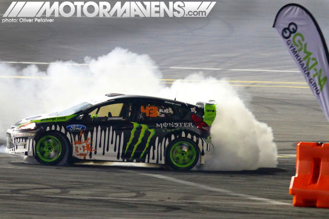 Irwindale MotorMavens Ken Block Invitational Gymkhana Grid Ford Fiesta Monster Energy Drink DC Shoes Discount Tire Castrol Edge