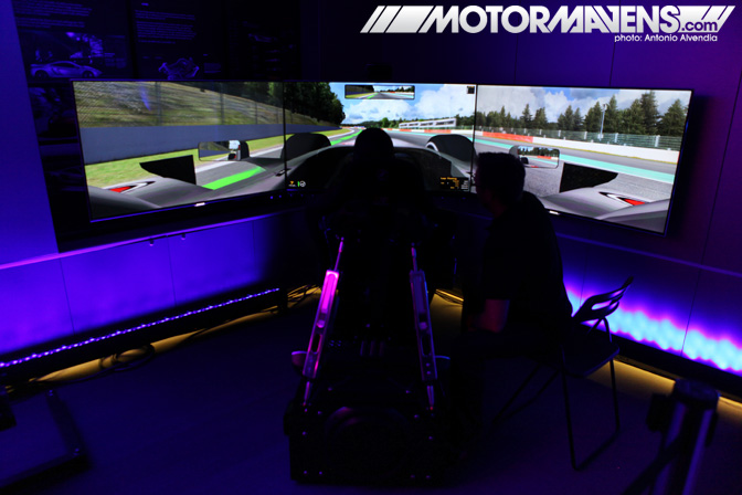 McLaren Beverly Hills Wilshire CXC Simulations driving simulator