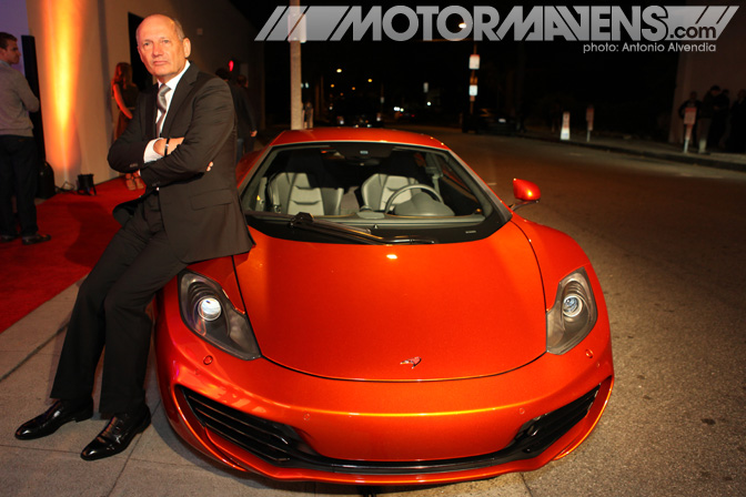Ron Dennis McLaren MP4-12C Beverly Hills Wilshire