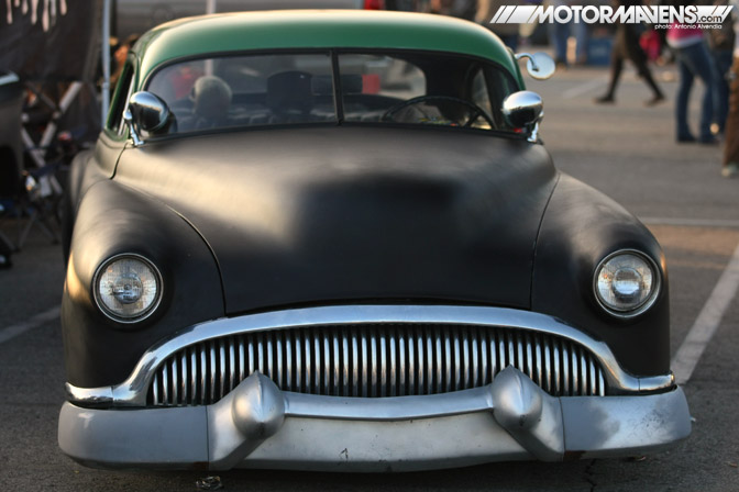 Dead Sleds Mooneyes hot rod rat kustom Irwindale Speedway xmas party