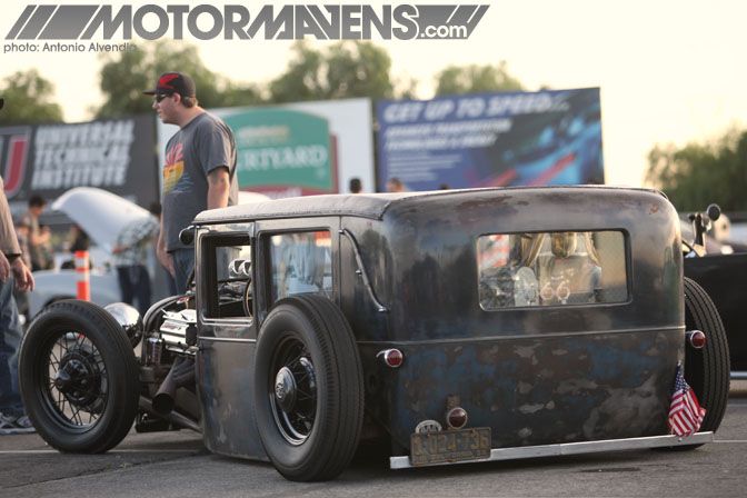 Mooneyes Christmas Party Xmas Irwindale Speedway hot rod rat rod kustom culture merc