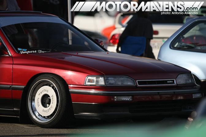 Volk Racing dish charles trieu acura legend import tuner super street Nisei Showoff Little Tokyo Los Angeles JDM Import Car Show Ken Miyoshi Mainstream Productions