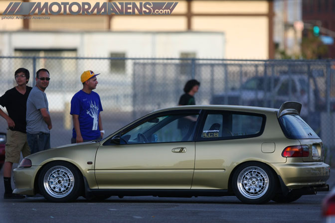 EG6 Civic Mugen Nisei Showoff Little Tokyo Los Angeles JDM Import Car Show Ken Miyoshi Mainstream Productions