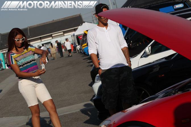 Mugen DA6 Acura Integra Nisei Showoff Little Tokyo Los Angeles JDM Import Car Show Ken Miyoshi Mainstream Productions