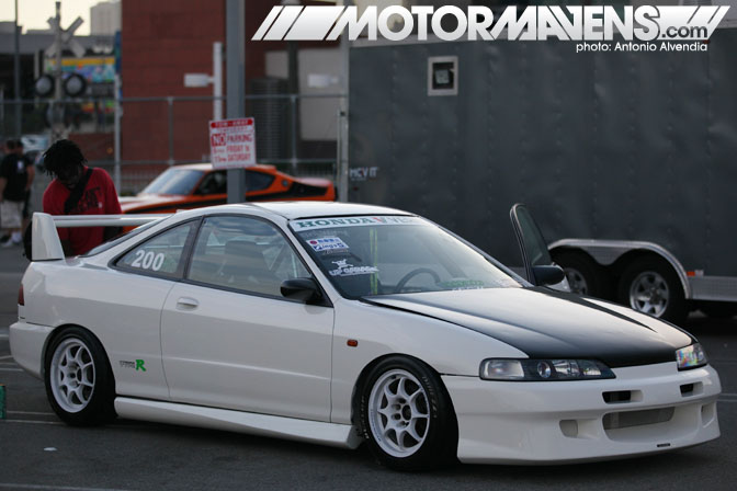 DC2 Acura Integra Nisei Showoff Little Tokyo Los Angeles JDM Import Car Show Ken Miyoshi Mainstream Productions