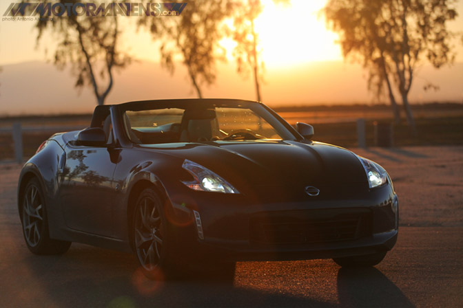 Nissan 370Z Roadster Tour Z34 Sport Package Buttonwillow Raceway