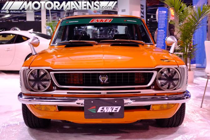 TE27 Corolla Levin SR5 SR-5 1974 Patrick Ng SEMA LAs Vegas Convention Center 2012