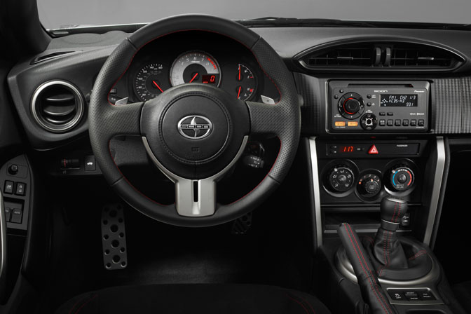 Scion FRS FR-S interior cockpit scionfrs launch reveal Jack Hollis Milk Studios FT86 GT86 BRZ
