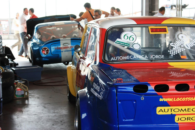 Jarama Vintage Car Festival Circuito del Jarama Spain